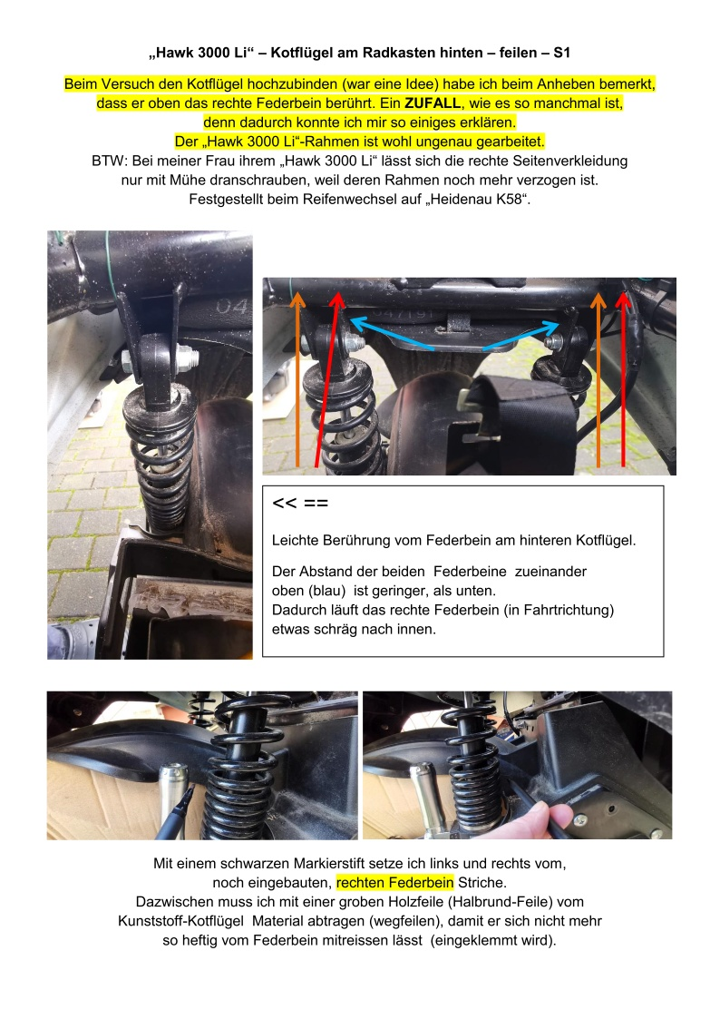 Hawk 3000 Li - RadkastenKlappern - Kotfluegel feilen_S1