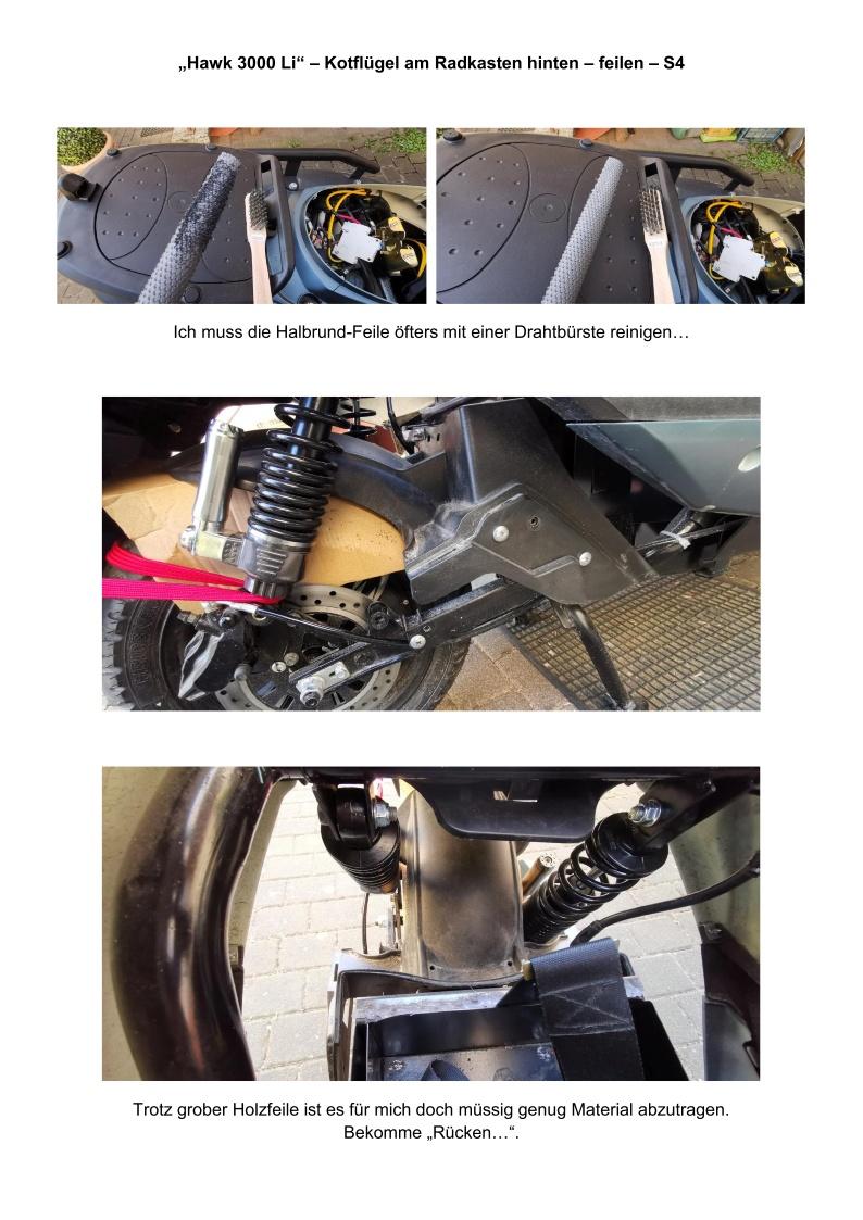 Hawk 3000 Li - RadkastenKlappern - Kotfluegel feilen_S4